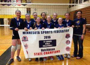MGVA ST. PETER 11U STATE CHAMPION: HAYFIELD SUNDOGS; Runner-up: Blooming Prairie; 3rd Place: Wabasso Juniors